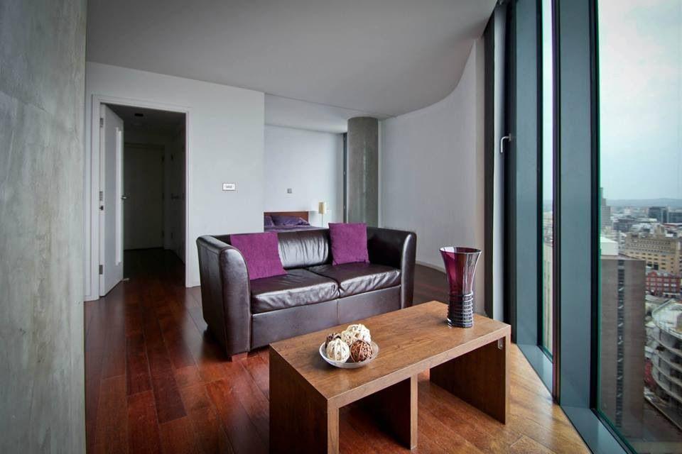 Beetham Tower Studio Apartment Image Taken For Birmingham