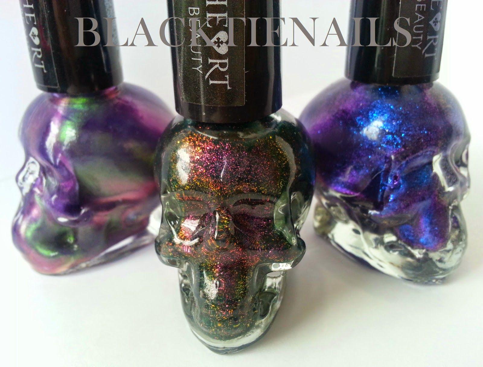 Black Tie Nails: Blackheart Beauty Nail Polish Swatches and ...