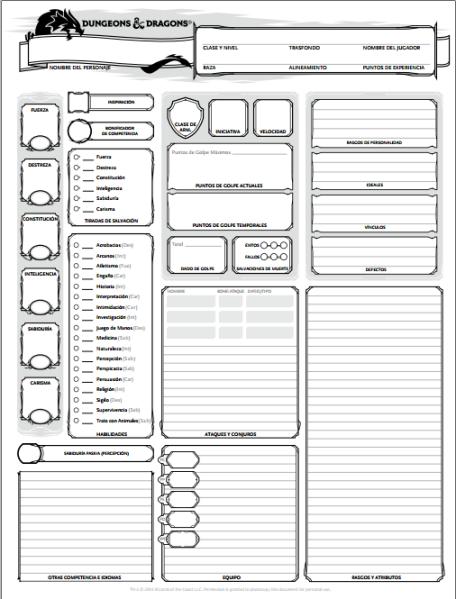 manual dungeons and dragons 3.5 español pdf