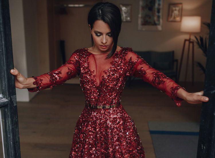 731dfc3d168 Вечернее платье с камнями на прокат