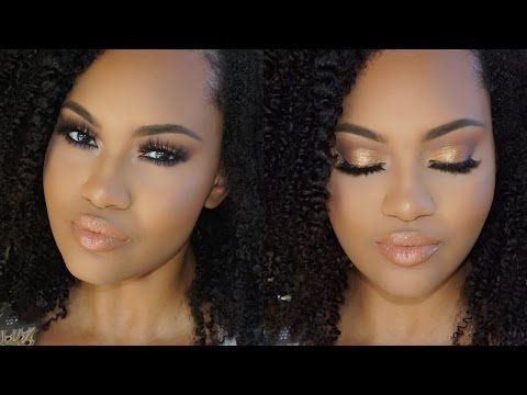 easy warm toned smokey eye makeup tutorial