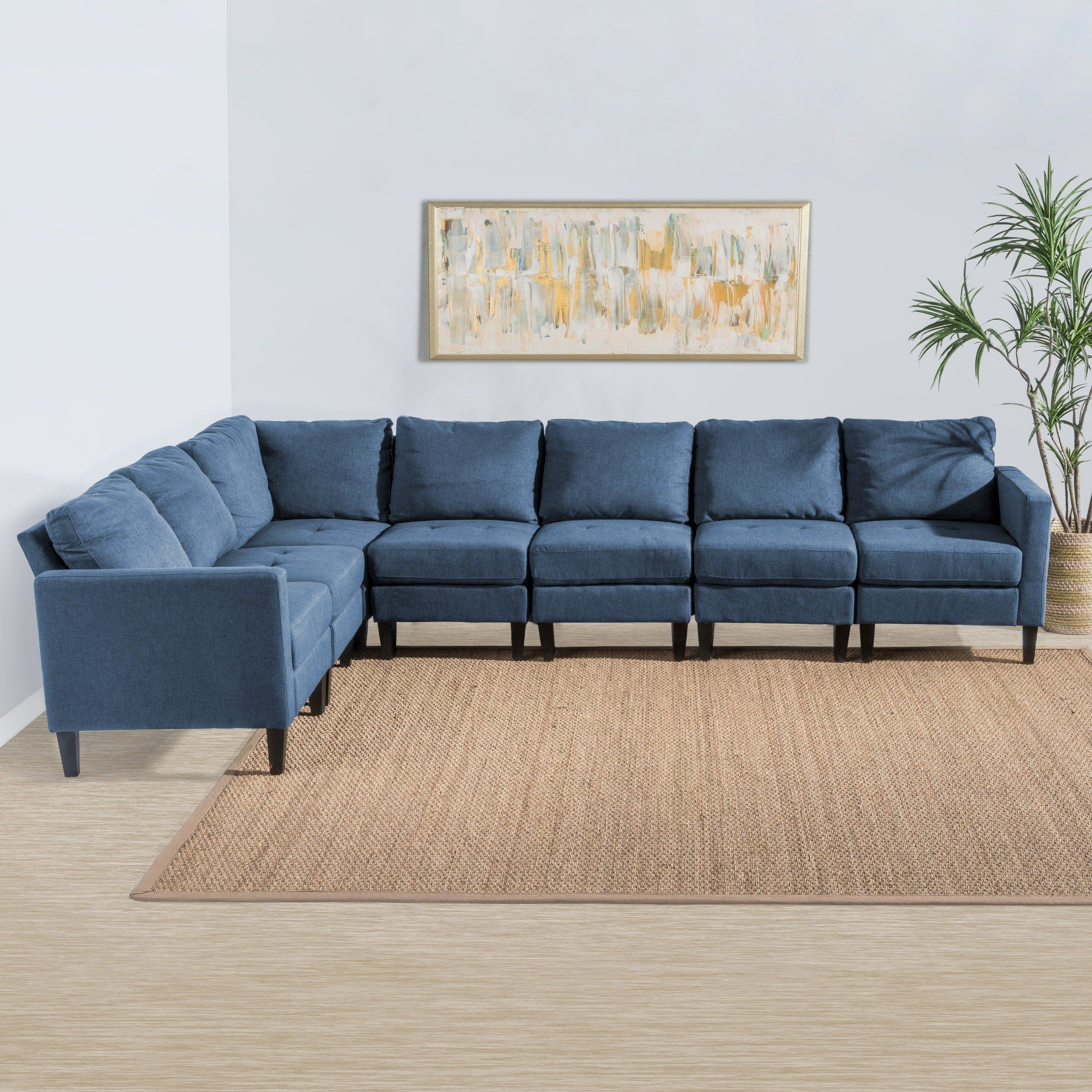 Actually Blue Denim Material Only Sectional Sofa Google Search Fabric Sectional Couch