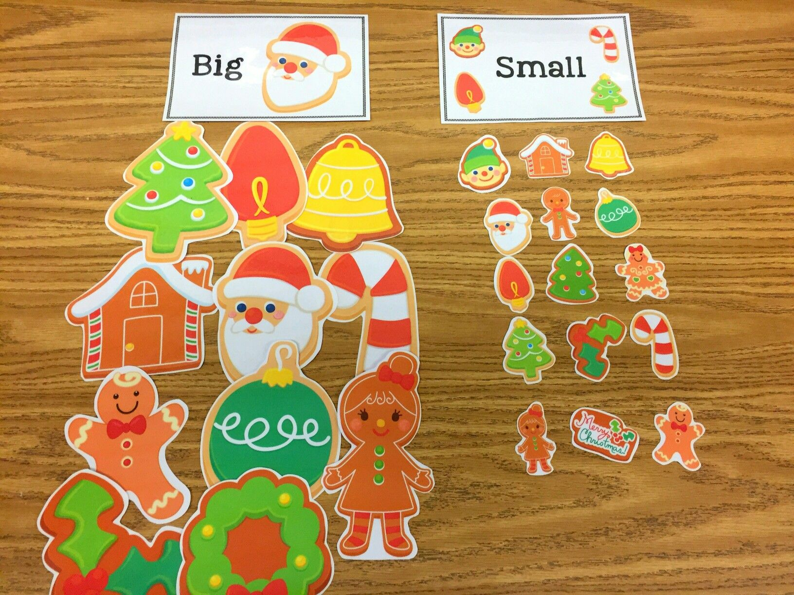 Preschool Winter Christmas Activities Craft Autism Printables December Math Mathematics