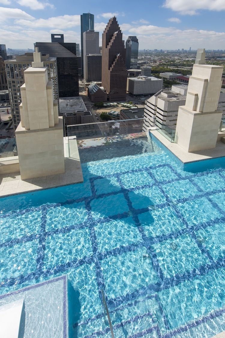 Glass Bottom Sky Pool Invites Thrill Seekers to Swim 40 Stories in ...