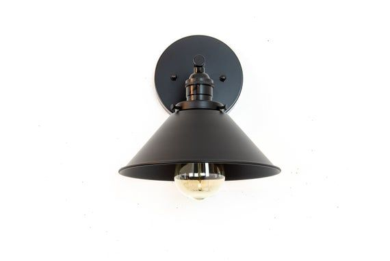 Photo of Industrial Wall Sconce – Black Bathroom Lights – Wall Lamp – Vanity Wall Lights – Industrial Lighting – Farmhouse Light Fixture – Modern
