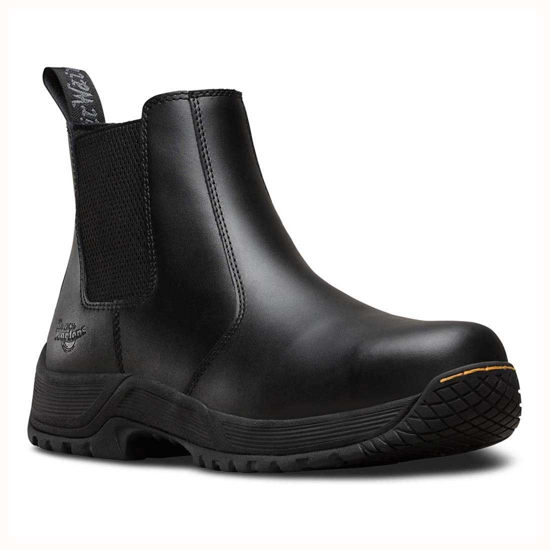 Dr Martens Drakelow S1P SRC Black Leather Unisex Safety