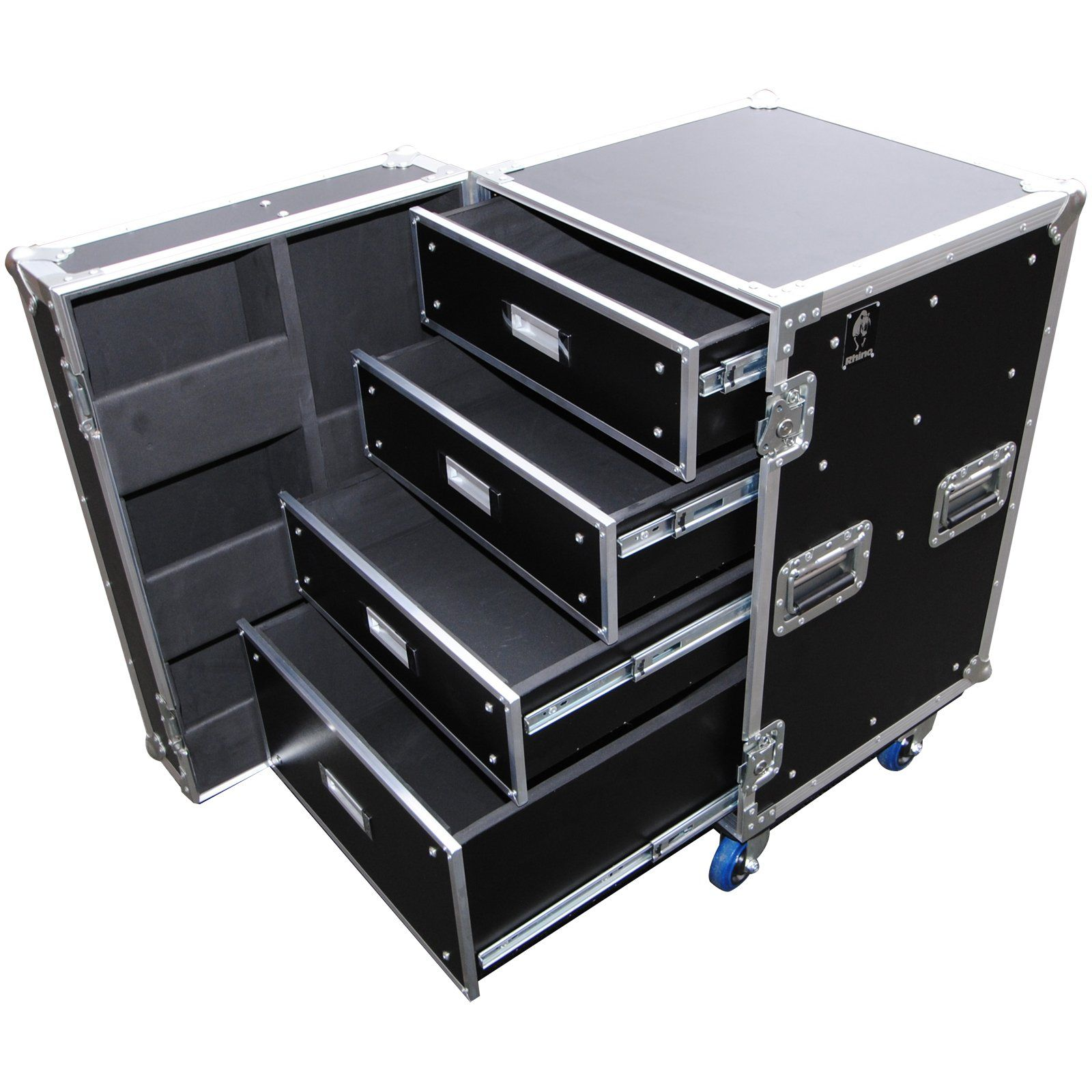 In Stock 4 Drawer Production Case Photoshop