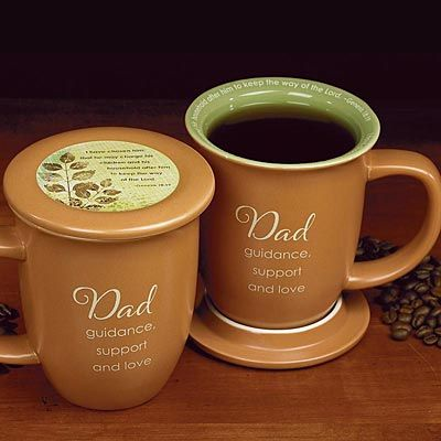 Dad s Coffee Mug & Coaster Set $12 Father s Day Gifts