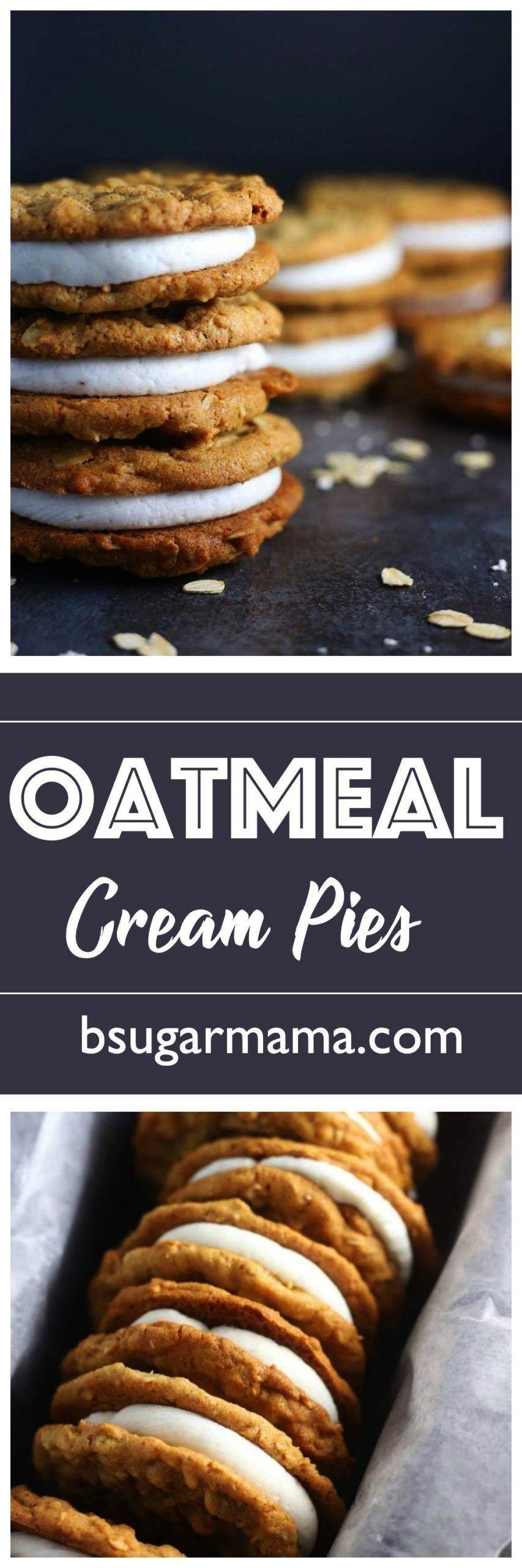 Oatmeal Cream Pies | Brown Sugar Food Blog Homemade Oatmeal Cream Pies:Homemade Oatmeal Cream Pies: