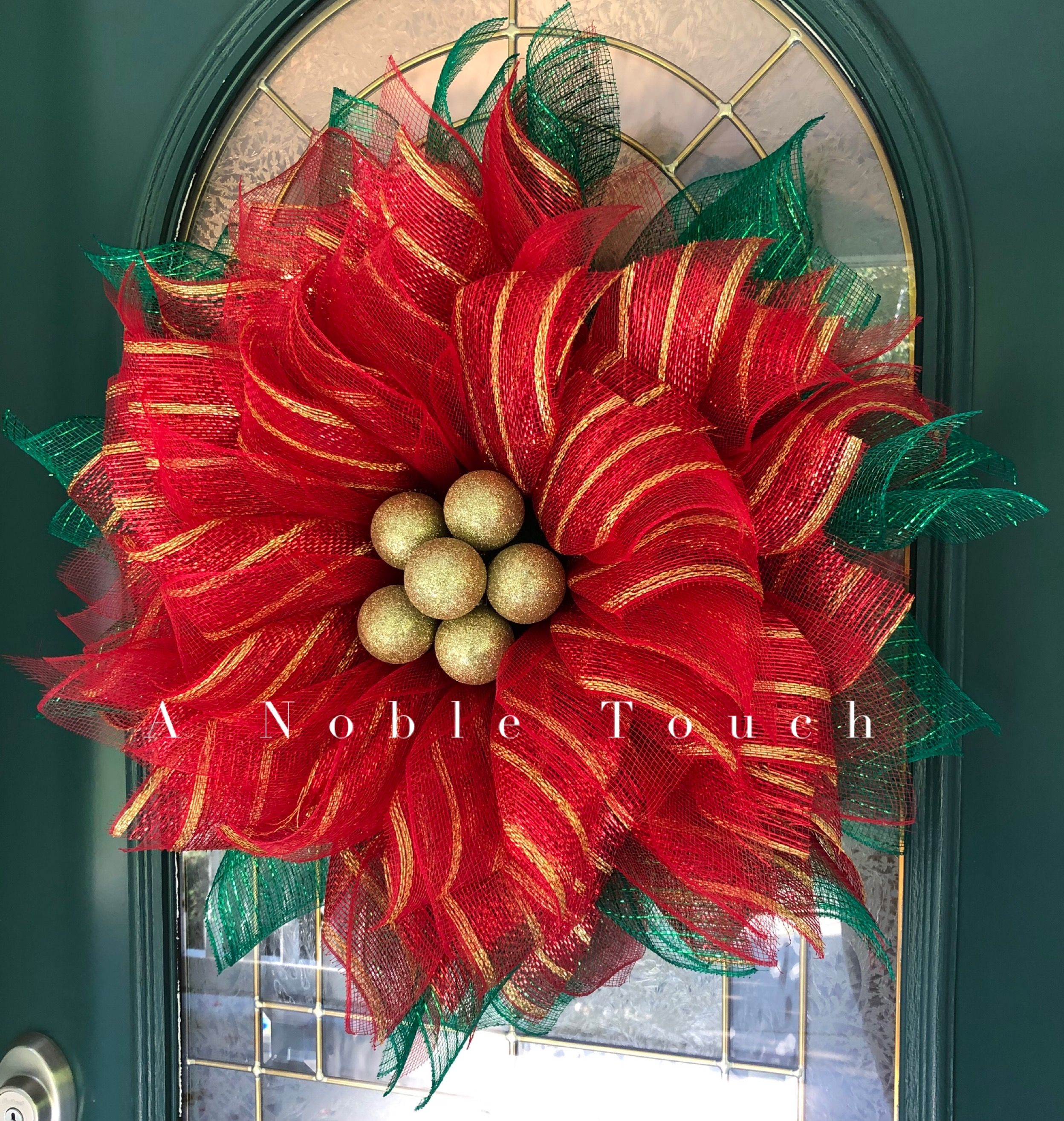 Digital Download, Poinsettia Tutorial, How to Make a