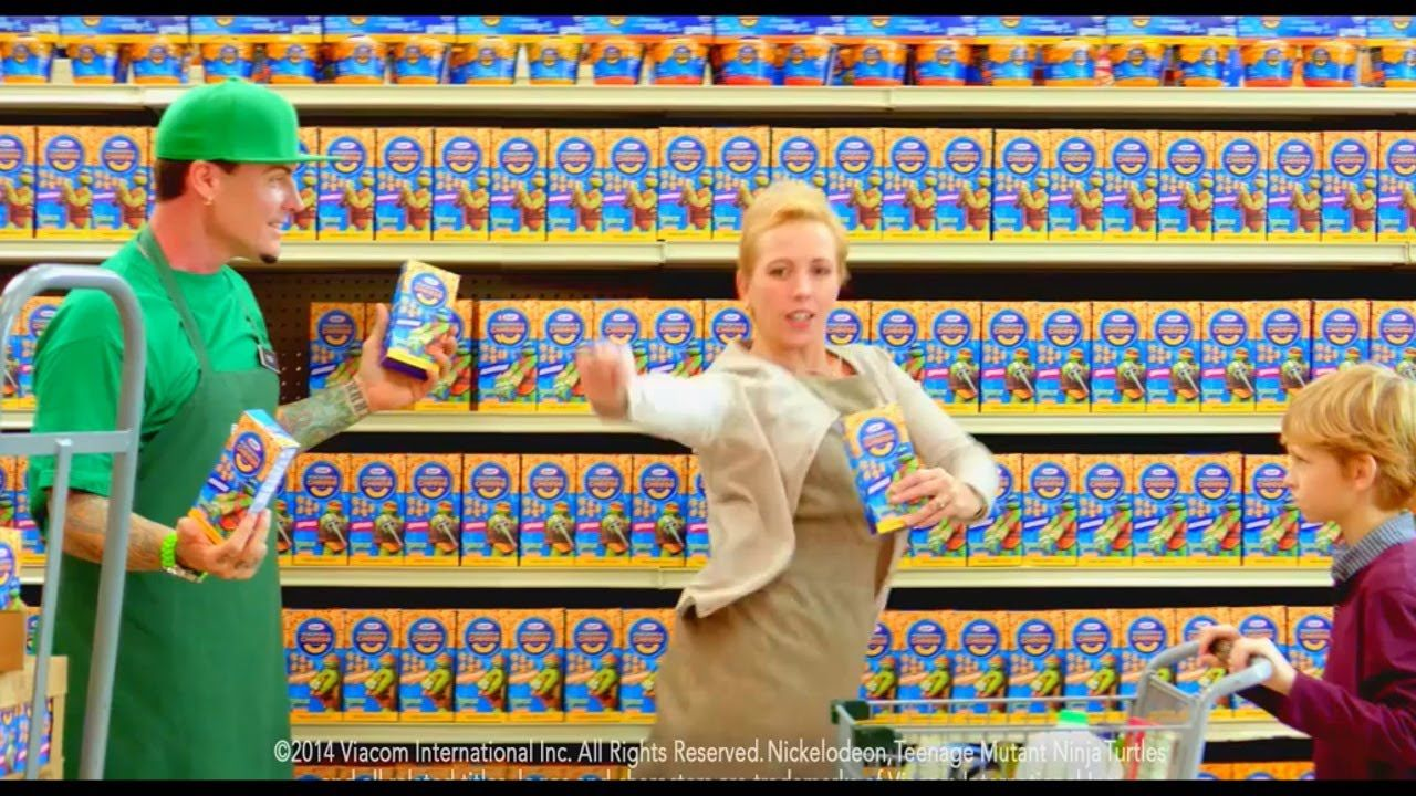mac and cheese commercial vanilla ice