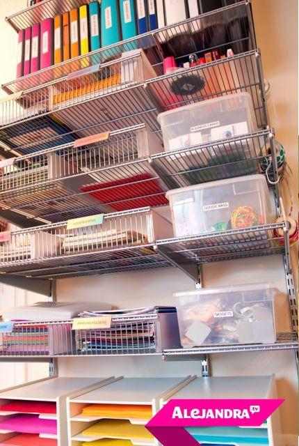 video insider tour of professional organizer alejandra costellos organized home