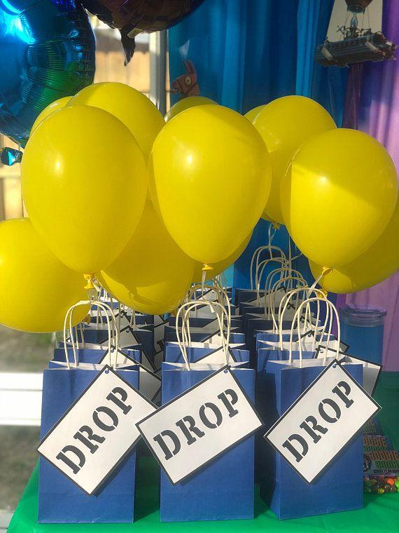 Fortnite Supply Drop Labels Digital Version | Favors, Drop ...