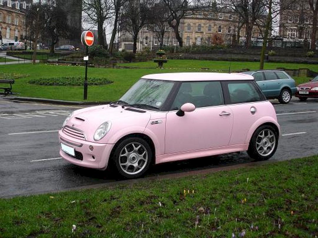 Pin by susan goodson on car Pink mini coopers, Pink car