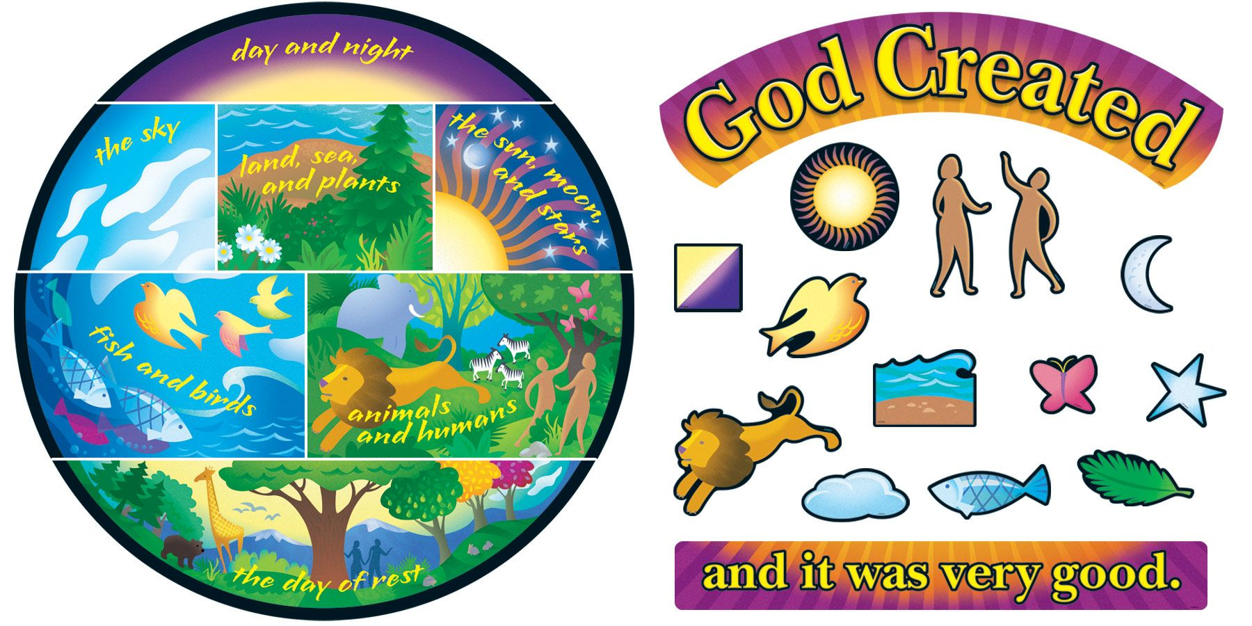 Free Sunday School Creation Crafts