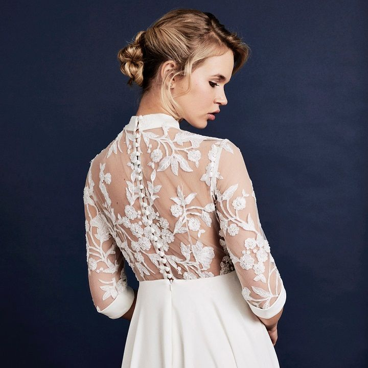 long sleeved wedding dress ,long sleeve wedding dress for autumn / winter