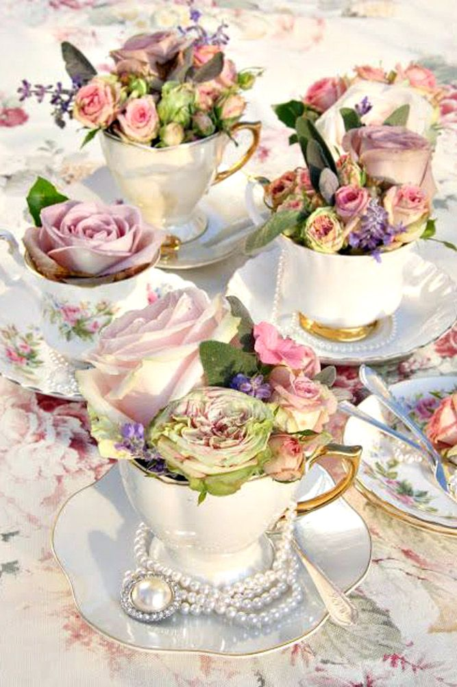 Vintage Teapot And Teacup Wedding Ideas See More Http Www
