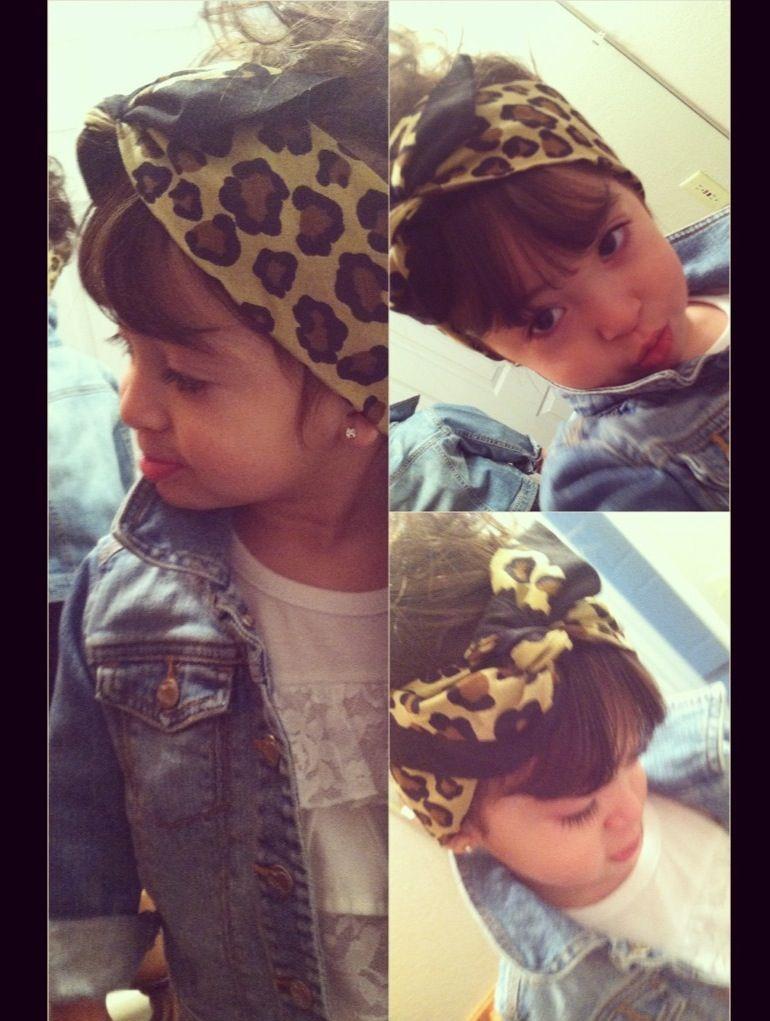 toddler hair bandana cute  9ab4a6808e4