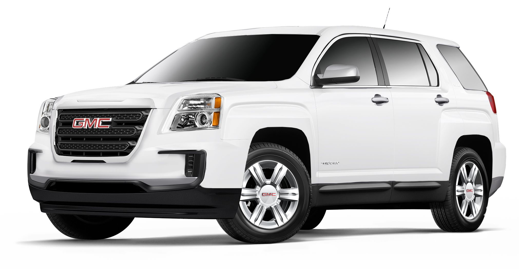 White 2017 Gmc Terrain Unless You The Square Wheel Well Then I Will Compromise With A 2018 Nissan Pathfinder