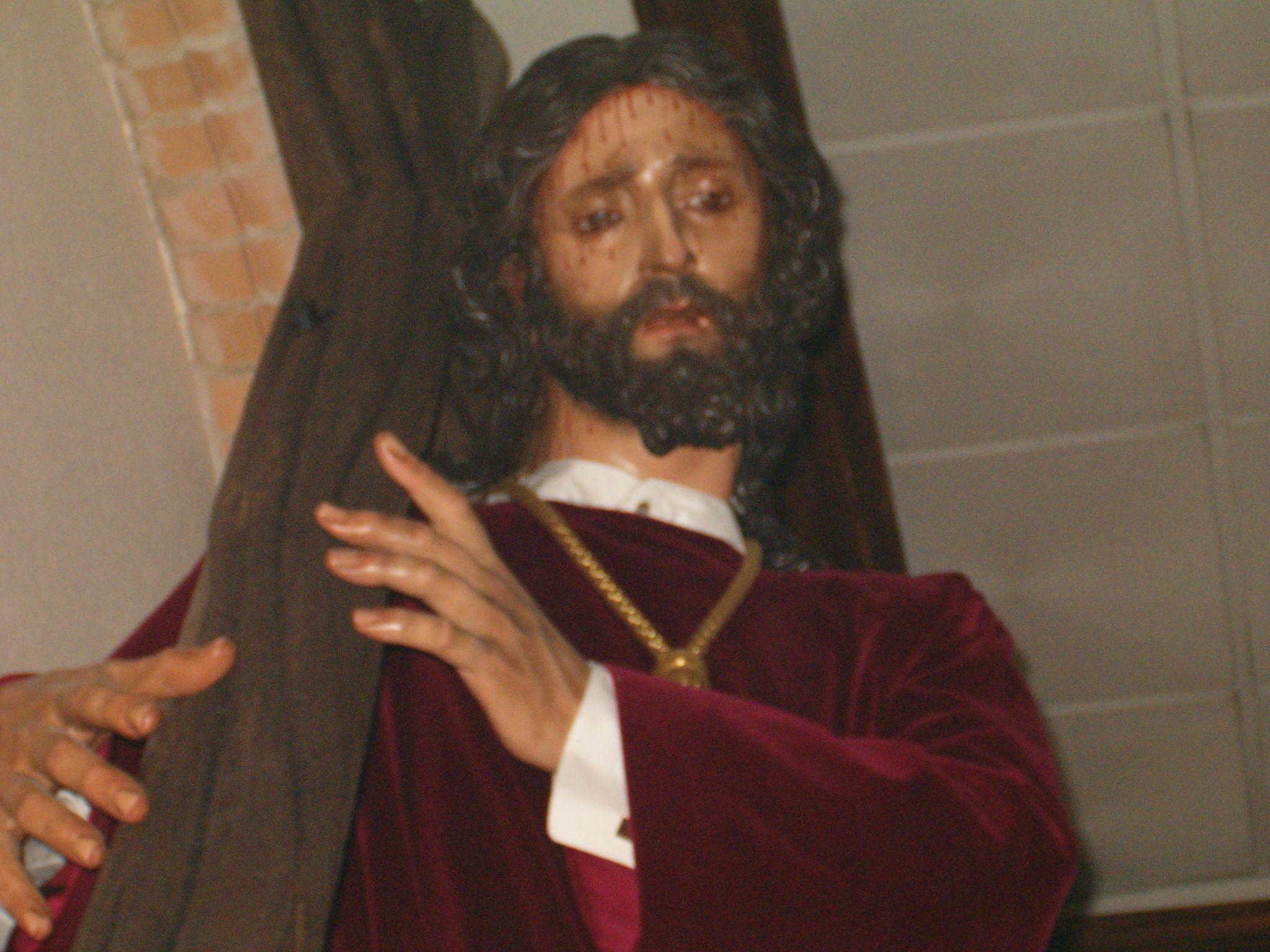 cristo de la veracruz de Martos