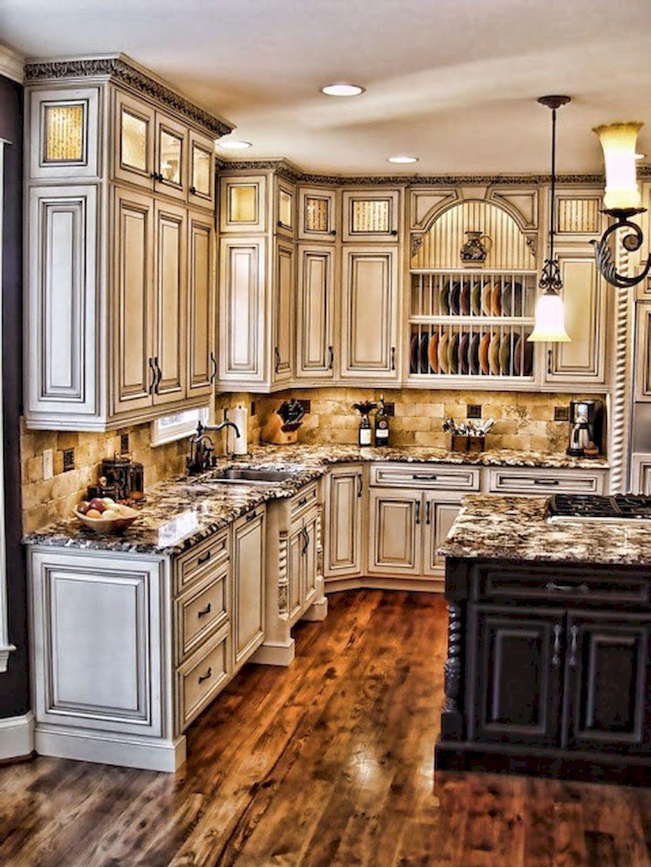 150 gorgeous farmhouse kitchen cabinets makeover ideas 50