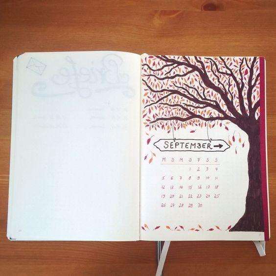 18 September and Fall Bullet Journal Ideas -