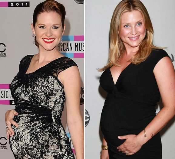 Cute Pics Pregnant Greys Anatomy Stars Over The Years Greys