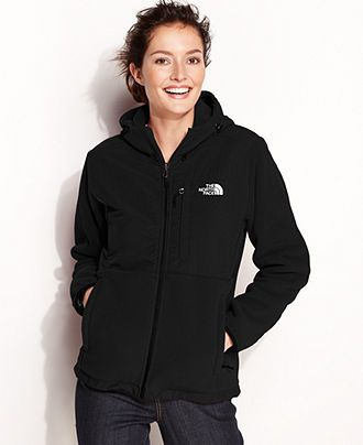 d28c96884 The North Face Jacket, Denali Fleece Hoodie - Womens The North Face ...