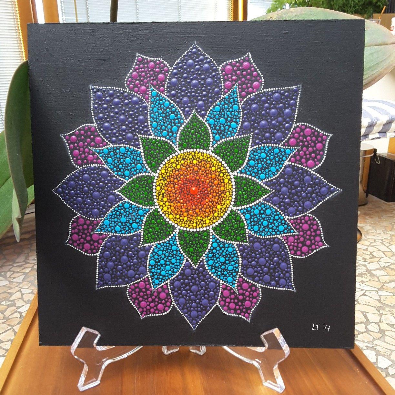 Dot Art Painting, Mandala