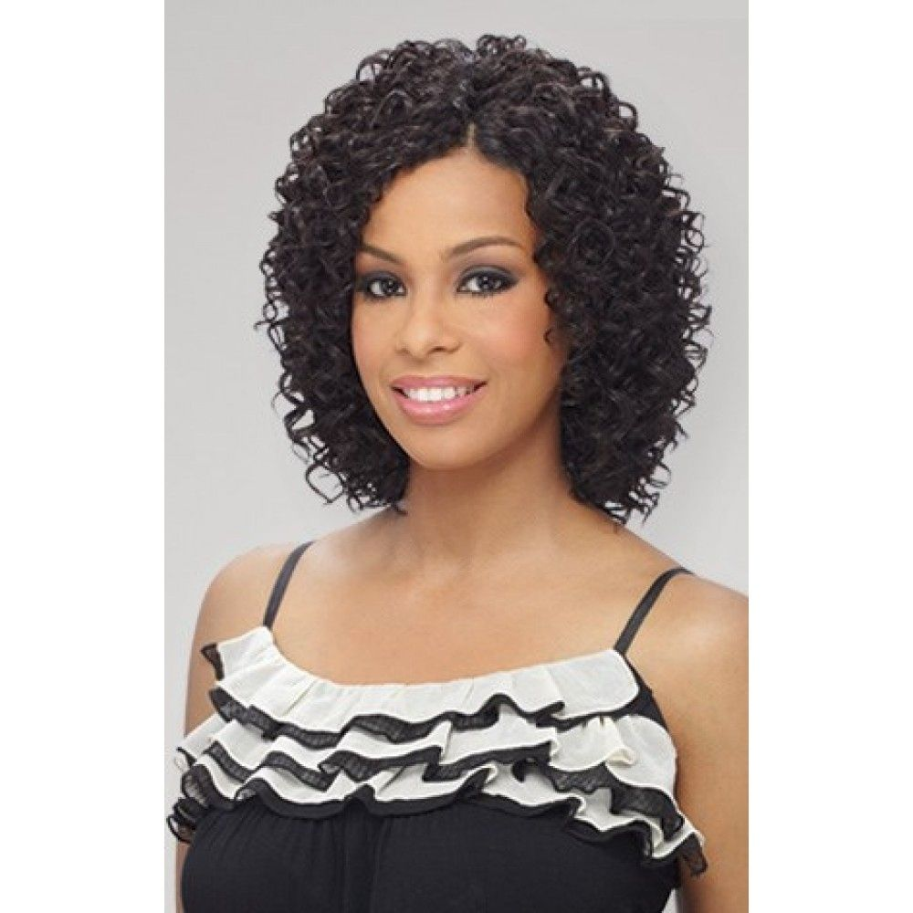 milkyway que short cut series weave – beach curl 3pcs | weave with