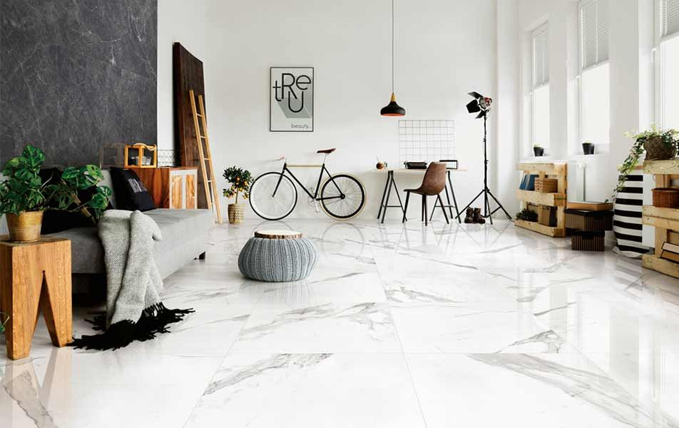 Marble Porcelain Tiles Decoration Maison Carrelages