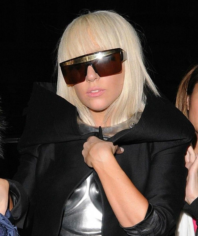 5b3577e1bc8 Image of Gianni Versace Authentic  Update  Sunglasses As Seen on Lady Gaga