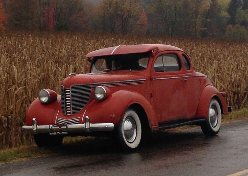 1938 Desoto Business Coupe Classic Cars Vintage Desoto Cars