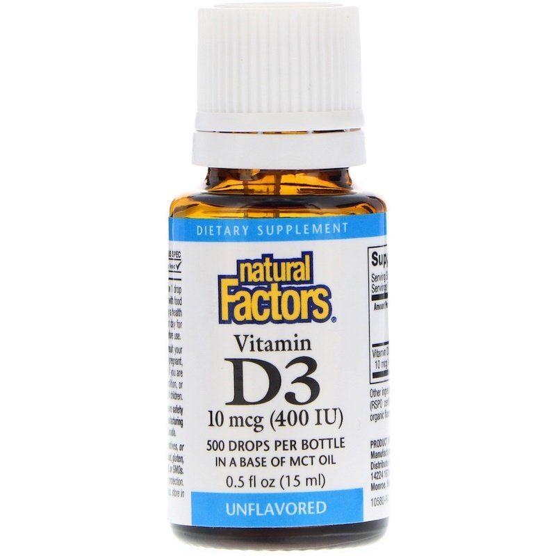 قطرات فيتامين D3 بدون نكهة 400 وحدة دولية 0 5 أوقية سائلة 15 مل Iherb Vitamin D3 Drops Vitamin D3 Vitamins