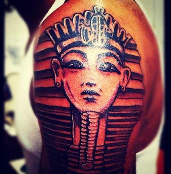 King Tut Tattoo #righteousp | Tattoo inspiration | Pinterest | King ...