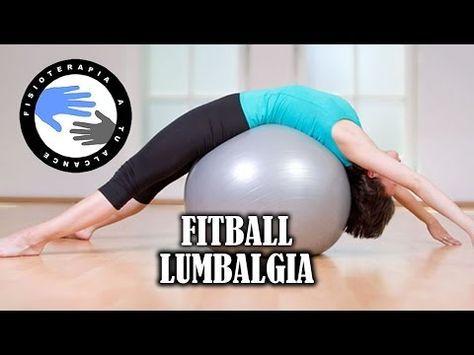Ejercicios con fitball o pelota de pilates para aliviar la lumbalgia o  lumbago - YouTube Physical 867064153a88
