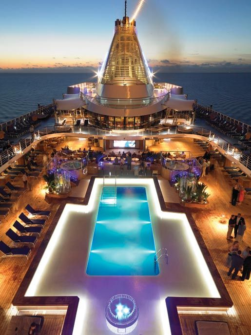 Vacations travel magazine at sea in style