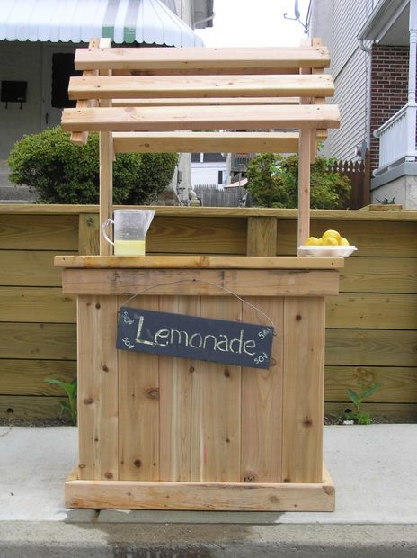 Build the perfect lemonade stand with your kids for Kids lemonade stand plans