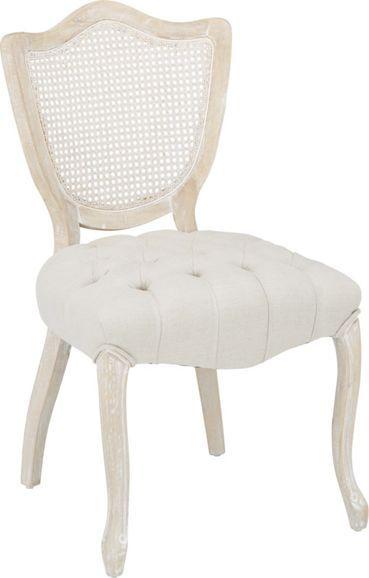 Stuhl in Natur aus Echtholz.