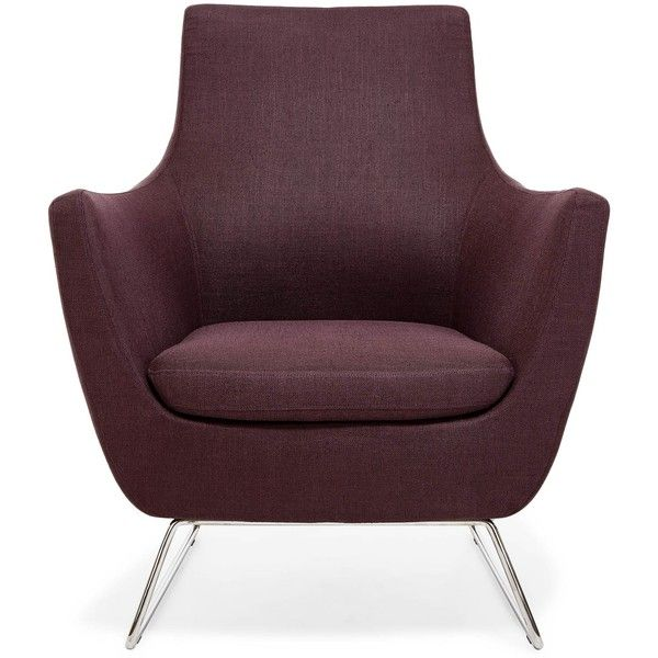 Purple Accent Chair Twin Futon Pittsburgh Armchair 599 Liked On Polyvore Featuring Home Furniture Chairs Upholstered