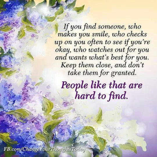 People like that are hard to find...