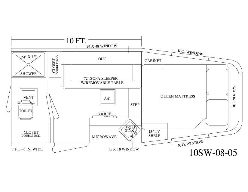 Living Quarter Horse Trailer - 10\' Short Wall with Full Mid Tack ...