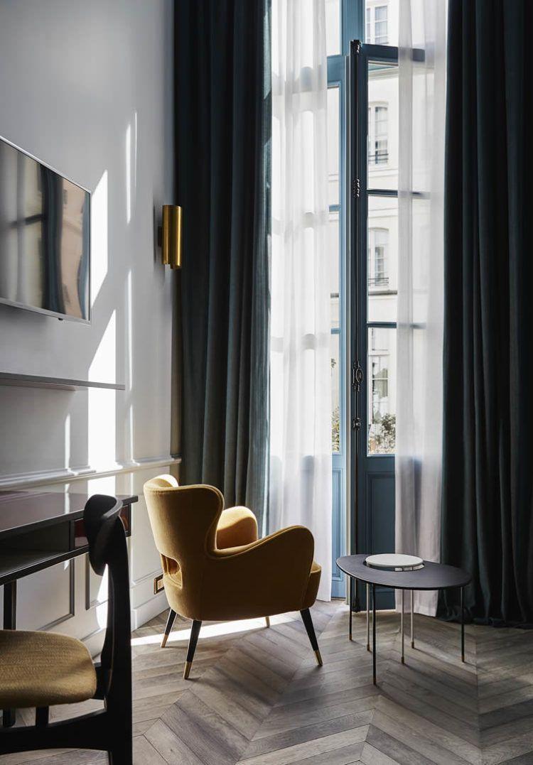 INSPIRATION: A Designer Stay Away In The Hoxton Hotel, Paris | Est Living.  Room InteriorInterior ExteriorInterior Design ...