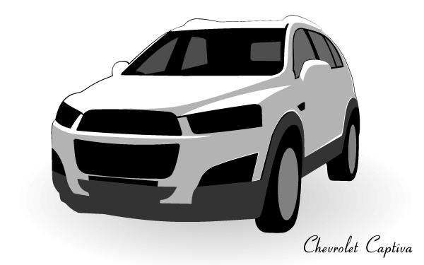 Chevrolet Captiva Vector Chevrolet Captiva Chevrolet Classic Cars