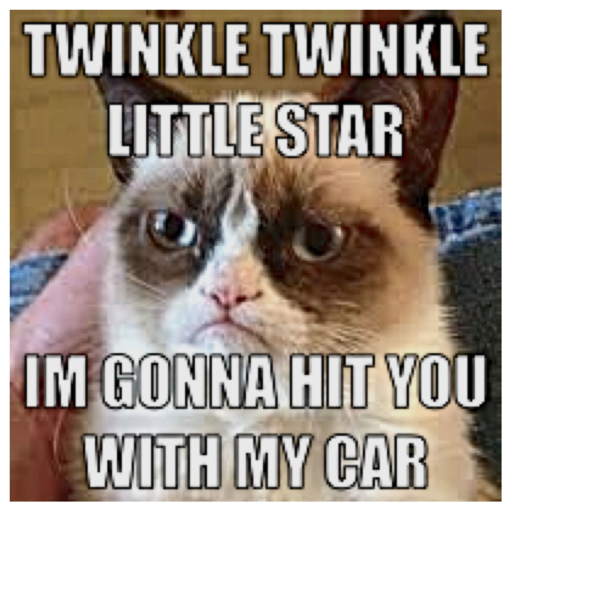 "Brigette, it's part of our song!!! ""Twinkle twinkle little"