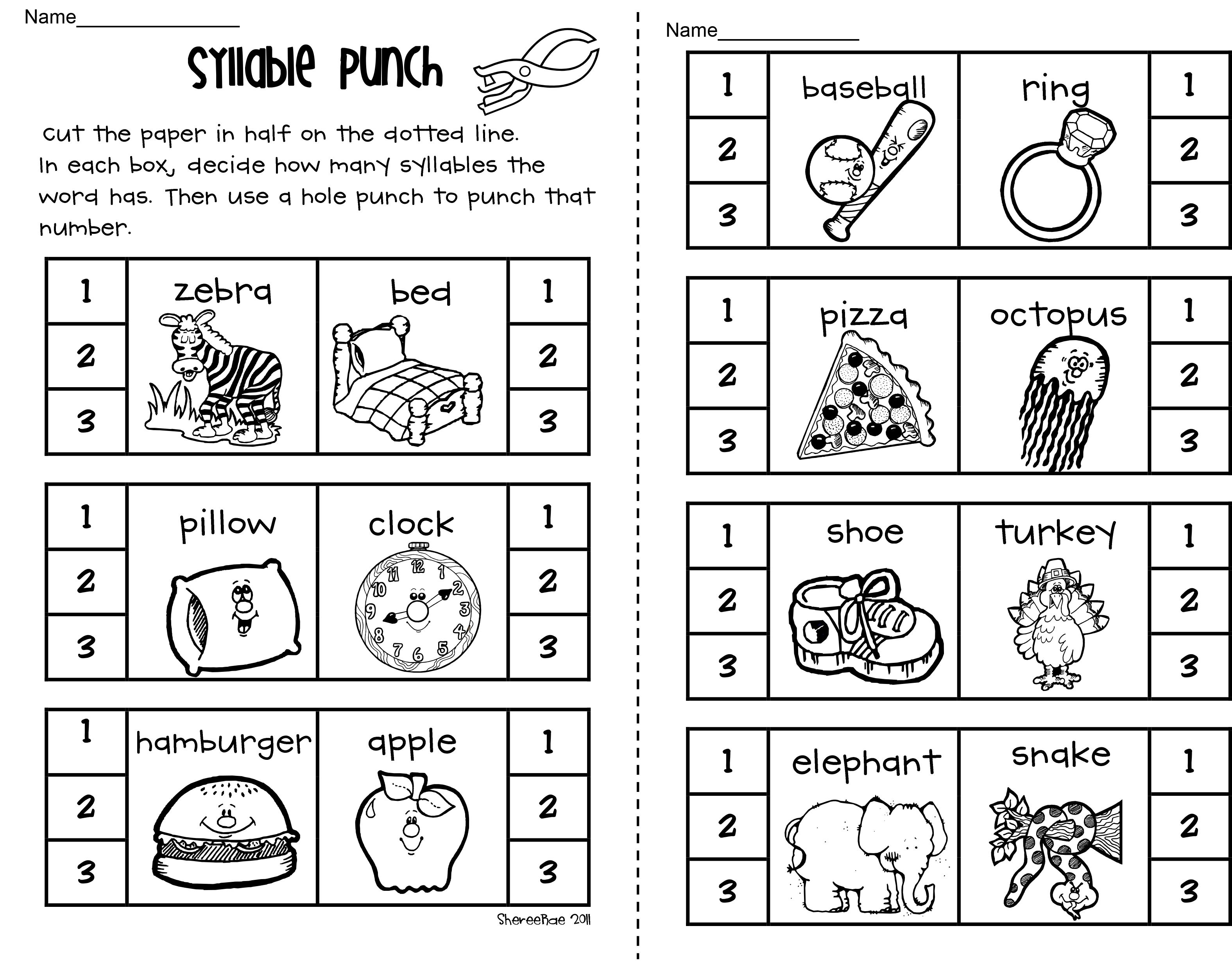 It S A Cute Activity For Identifying The Number Of