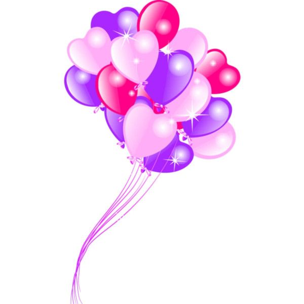 Ballons Balloons Heart Balloons Birthday Wishes Cards