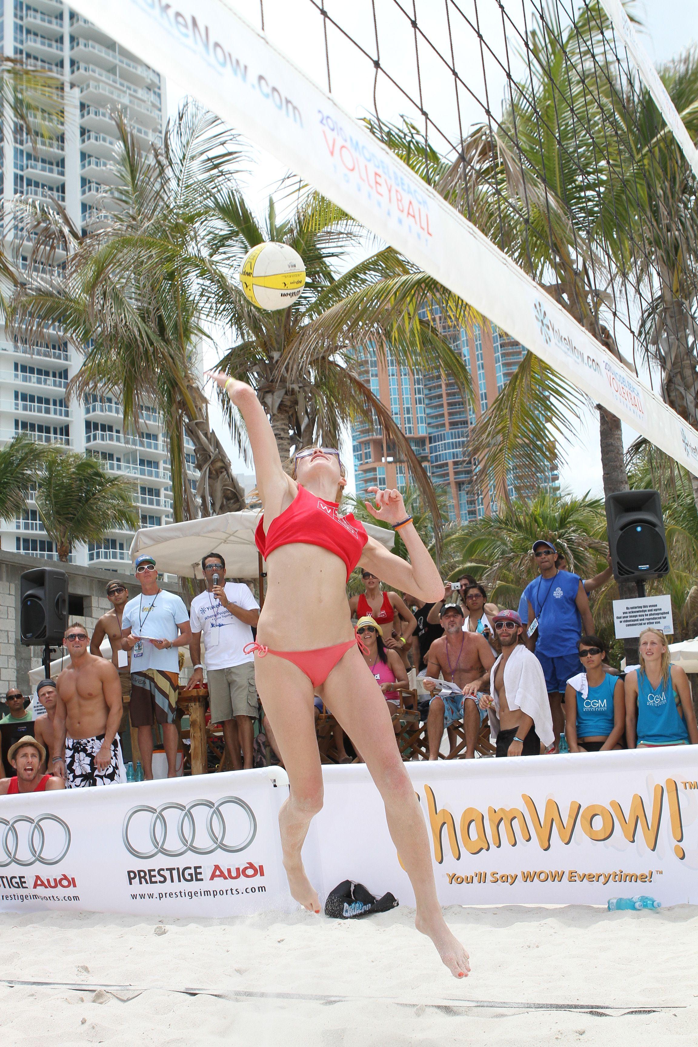 Model Beach Volleyball Miami South Beach Beach Volleyball South Beach Miami South Beach