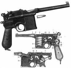 mauser C96 diagram
