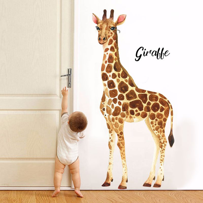 Kids Interiors On Instagram Giraffe In The Kid S Room Check Out Our Instastory Today For Giraffes In The Boy Toddler Bedroom Baby Room Decor Safari Room